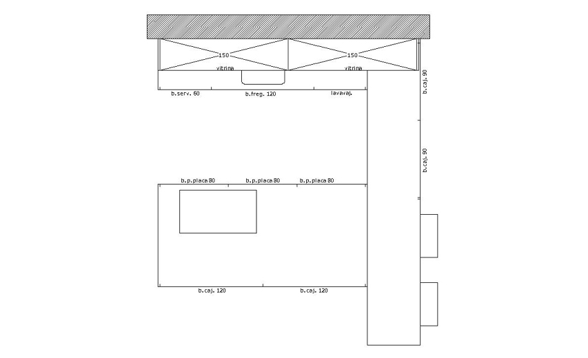 Liquidación de cocina modelo MINOS-LINE. Cambio de exposición por llegada de novedades.