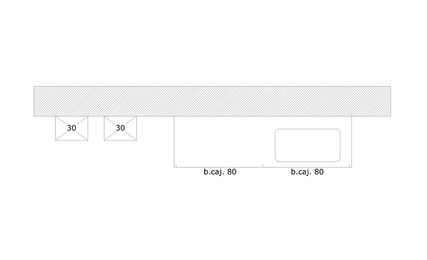 Liquidación de baño modelo MINOS LINE-E/L por cambio de exposición.